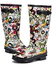 migliori scarpe da ginnastica 61a92 1b21c Amazon.it: stivali gomma donna - Gracosy: Scarpe e borse