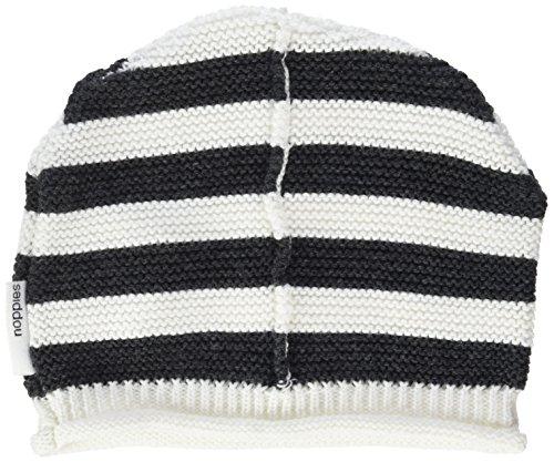 Noppies Unisex Baby Mütze U Hat Knit Gantt, Schwarz (Charcoal Melange C272), S...
