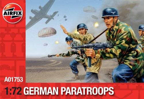 Airfix A01753 Modellbausatz German Paratroops (Re-Release)