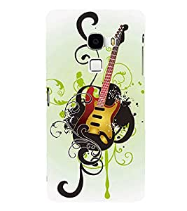 PRINTSHOPPII GUITAR Back Case Cover for LeTV Le Max