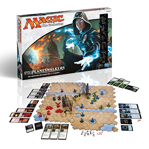 Wizards Arenas (Hasbro Spiele B2606100 - Magic: The Gathering - Arena of the Planeswalkers, Rollenspiel)