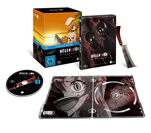 Higurashi Vol.1 (Steelcase Edition) [Blu-ray]