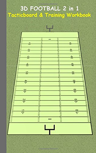 3D Football 2 in 1 Tacticboard and Training Book por Theo von Taane