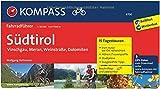 Südtirol - Vinschgau, Meran, Weinstraße, Dolomiten: Fahrradführer mit Routenkarten im optimalen Maßstab.: Fietsgids 1:50 000 (KOMPASS-Fahrradführer, Band 6700)