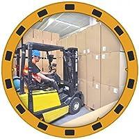 Dancop 0004358 EUVEX Espejo redondo industrial, PMMA, 60cm diámetro