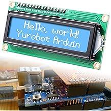XCSOURCE® Azul IIC I2C TWI 1602 16x2 LCD Serial Módulo de Pantalla para Arduino TE117