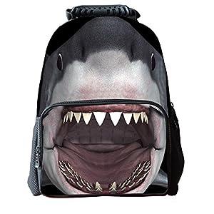 515iMkYDygL. SS300  - Moin tiburón mochila de lo estudiante de mochila de deportes al aire libre bolso de Viajes Ocio