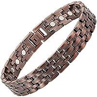 Titan Magnettherapie Armband Kupfer Farbe Größe verstellen Werkzeug und Geschenkbox von Willis Judd enthalten preisvergleich bei billige-tabletten.eu