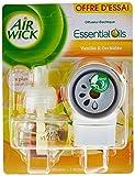 Air Wick Desodorisant Maison Diffuseur Electrique + 1 Recharge Vanille et Orchidée...