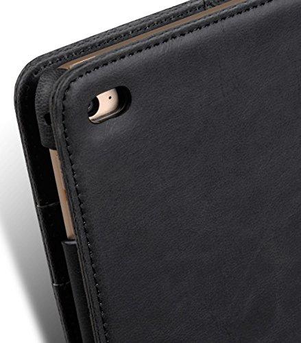 Melkco Étui type portefeuille pour iPhone 5 Black PU 3