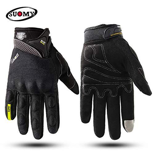 MYSdd Guanti moto 100% impermeabili e antivento con protezione touchscreen invernale caldoa1M