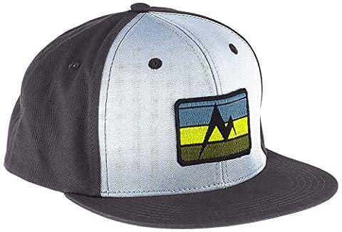 Marmot Herren Origins Cap Mütze, Sunrise Dark Charcoal, One Size (Baseball Screen Print Cap)