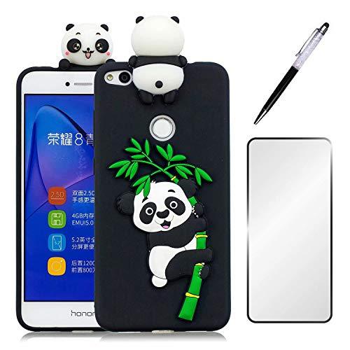 Funda Huawei P8 Lite 2017/Honor 8 Lite con Protector de Pantalla de...