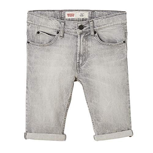 Levi's Kids Jungen Nn25057 25 Bermudas Badeshorts, Grau (Grey), 10 Jahre (Herstellergröße: 10Y) -