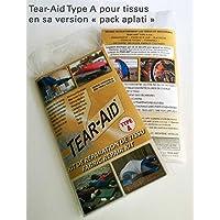 Set di riparazione per tessuto Tear-Aid Type A, istantaneo, permanente e quasi invisibile