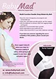 BabyMad Maternity Support Belt Pregnancy Support, Waist Back Abdomen Belly Band Brace (XL: 46-55.5 / 116-141cm) by BabyMad