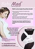 BabyMad® Ceinture de soutien pour grossesse Maintien de la taille, du dos, du ventre