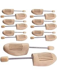 5 PAAR Holz Schuhspanner Herrenschuhe Damenschuhe Gr. 36/37, 38/39, 40/41, 42/43, 44/45, 46/48 Holzspanner Schuhe (36/37)