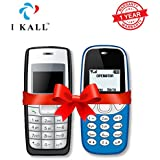 IKALL Combo Of 1.4-inch K72 And K71 Feature Phone (Black And Light Blue, 64 MB)