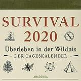 Survival 2020: Überleben in der Wildnis - Der Tageskalender -