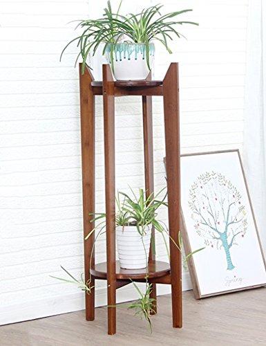 WSSF- Supports de pots Bambou Fleur Rack Multicouche Plante Verte Suspendue Orchidée Balcon Fleur Présentoir Plancher Intérieur Salon Fleur Pot Taille De Tablette En Option (taille : 30*100cm)