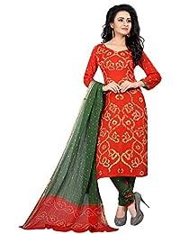 MEGHALYA Women's Satin Cotton Dress Material (Gulty Salwar Satin Cotton Dress-4051)