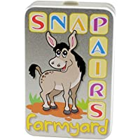 Cheatwell Games Farmyard Snap and Pairs Memory Card Game