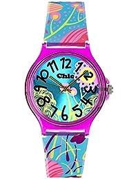 Teenie-Weenie Chic Watches UC018 - Reloj para mujeres, correa de plástico color turquesa