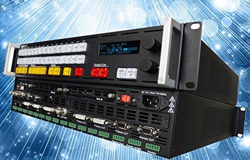 Gowe Video Switcher und Scaler mit Audio Ein- und Ausgänge Vsp-serie
