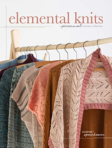 Elemental Knits: A Perennial Knitwear Collection Lace Cowl
