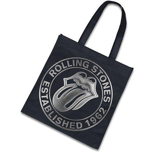 the-rolling-stones-est-1962-new-official-black-eco-shopper-bag-37cm-x-38cm