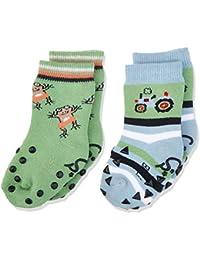 Sterntaler Baby-Jungen Socken Abs-Krabbelsöckchen Dp Traktor