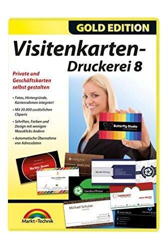Visitenkarten Druckerei 8 - professionelle Visitenkarten gestalten und drucken
