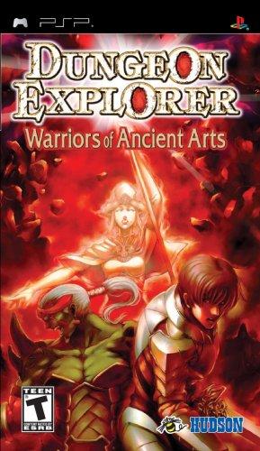 Konami Dungeon Explorer: Warrior of Ancient Arts - Sony PSP (Jewel case)