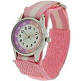 Reflex Mädchen Datum klassisch Quarz Uhr mit Stoff Armband REFK0005