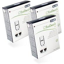 DeLonghi Descalcificador Eco Mini Paquete Ahorro 6x 100 ml para Cafeteras Automáticas - Nr.: 551329282