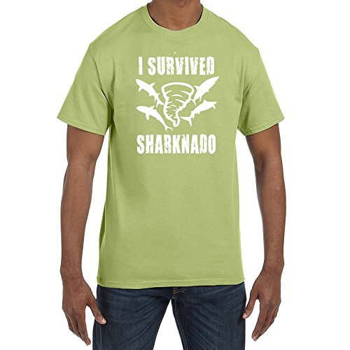 Epsion I survived Sharknado Men's T-Shirts