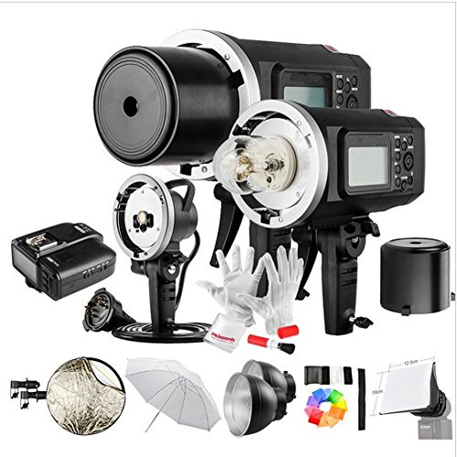 Gowe 600 W GN87 1/8000 HSS Outdoor Flash Strobe Monolight mit X1 C Wireless Flash Trigger 8700 mAh Akku Tragbare Head 600ws Monolights