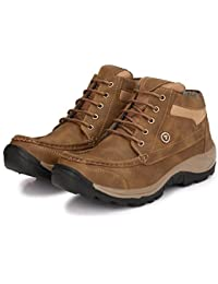 LAYASA Men's Synthetic Leather Boots