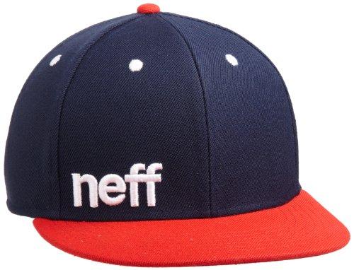Neff Beanie-Mütze Daily Heather Blau - Navy / Rot