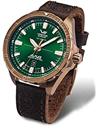Vostok Europe Almaz Space Station Automatik Herrenuhr BRONZE 320O265