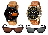 CASADO 2 Analogue Black Dial Men'S And B...