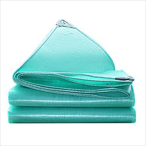 endichte Sonnenschutzplane, Wasserdichte Abdeckung Fracht Sonnenschutz staubdicht (Farbe : Blue, Farbe : 5 x 5m) ()