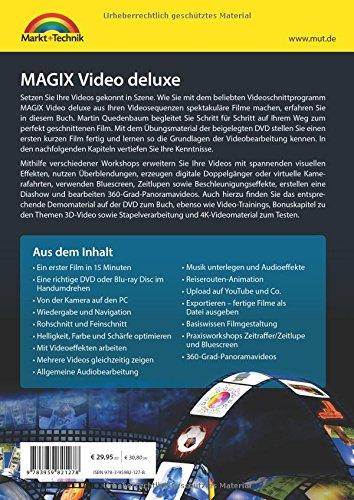 MAGIX Video deluxe 2018 - Das Buch zur Software. Die besten Tipps und Tricks für alle Versionen inkl. Plus, Premium, Control und 360 - 2