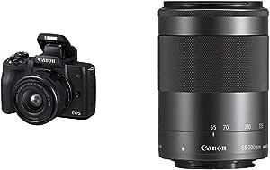 Canon Eos M50 Spiegellos Systemkamera 3 Zoll Mit Kamera