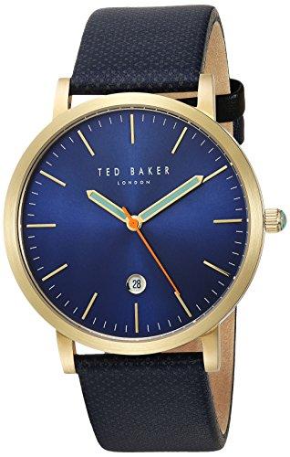 Ted Baker Men's Graham 10031494 Blue Leather Quartz Fashion Watch