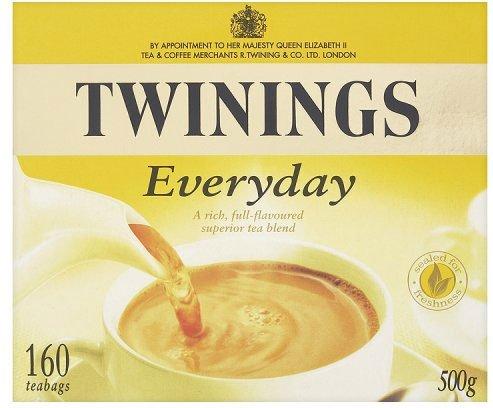 Twinings Everyday 160 Btl. 500g – Schwarzer Tee für jede Tageszeit
