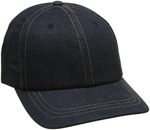 LEVIS FOOTWEAR AND ACCESSORIES Herren Baseball Classic Denim Cap, Blau (Dark Blue), One size (Herstellergröße: UN)
