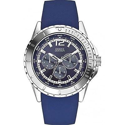 Guess-Reloj de pulsera hombre cronógrafo cuarzo silicona w0485g3