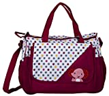 Tinny Tots Nappy Bag Large Capacity Multi-Function Diaper Bag Waterproof Travel Backpack Nappy